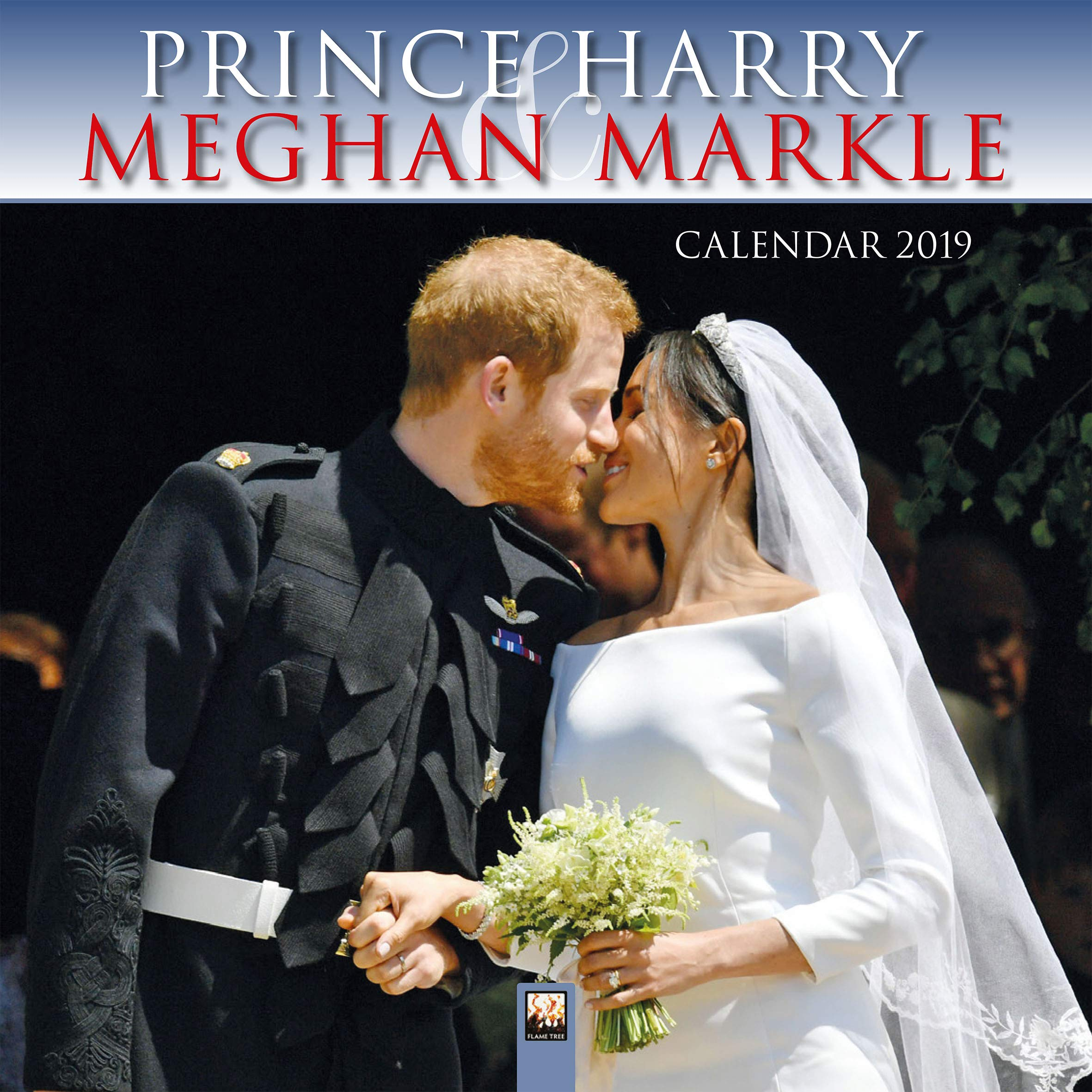 Prince Harry and Meghan Markle Wall Calendar 2019 (Art Calendar)