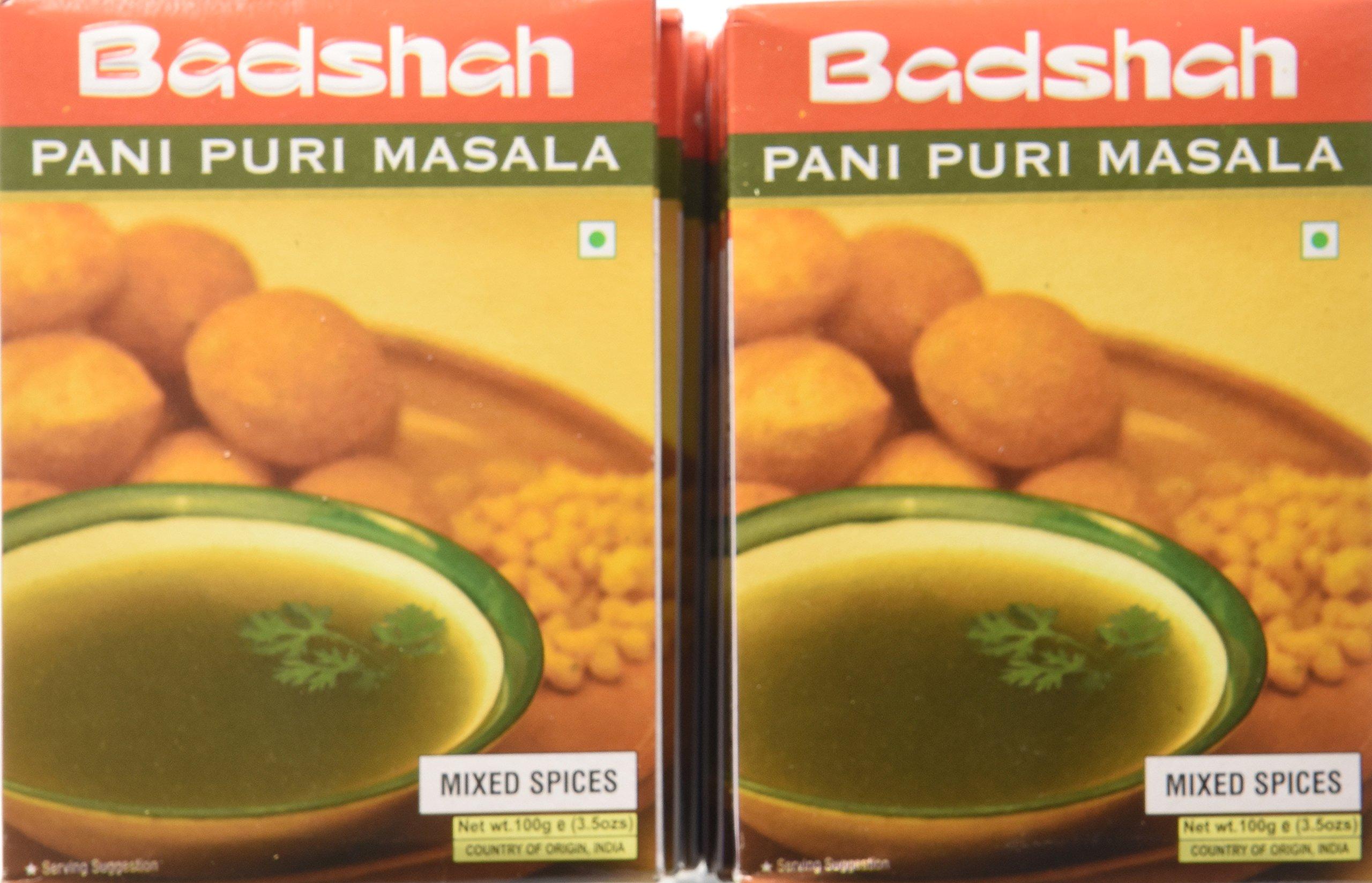 Badshah Masala, Pani Puri, 3.5-Ounce Box (Pack of 12)