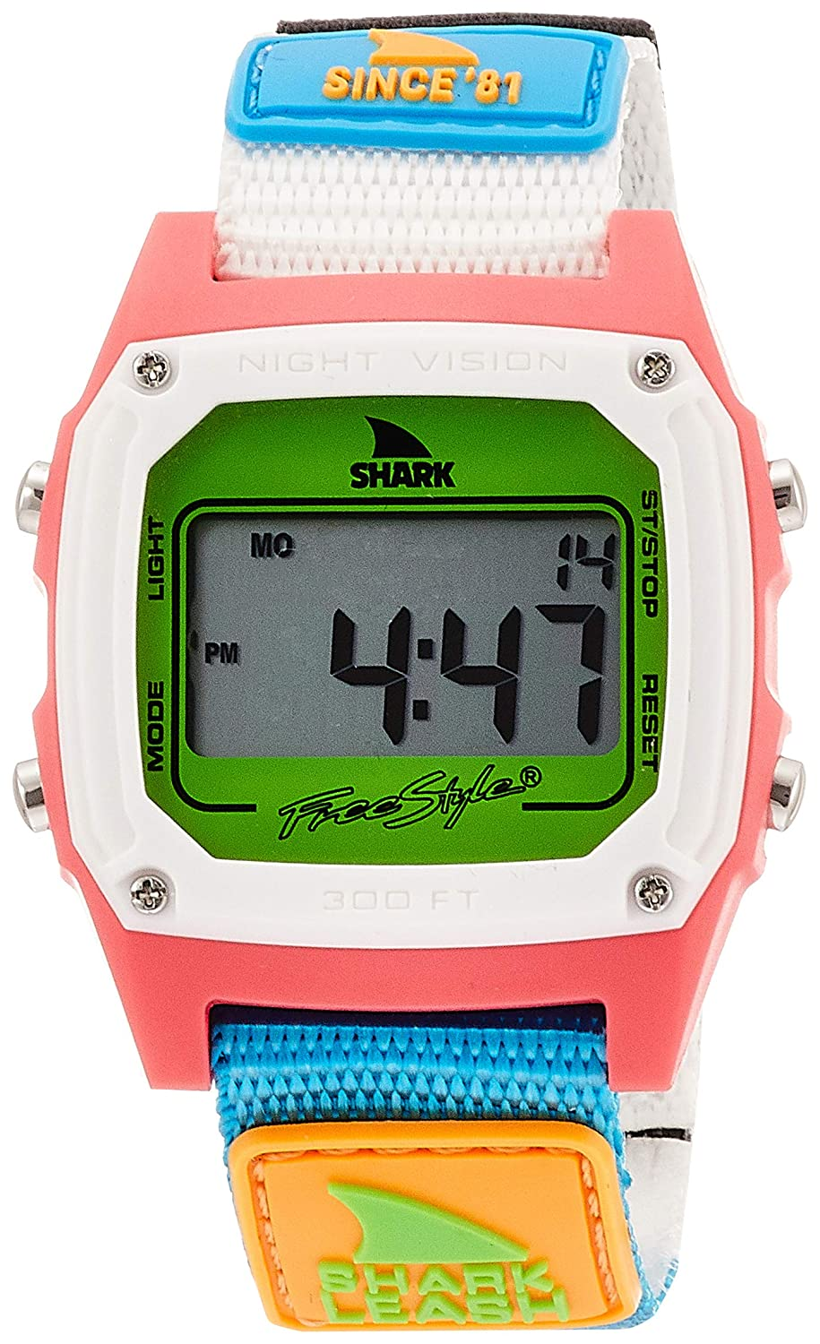 Freestyle Shark Classic Leash Since '81 Neon 2.0 Unisex Watch FS101008