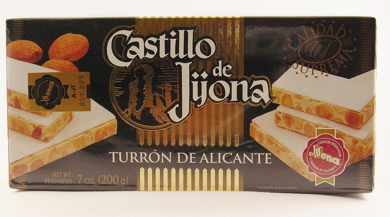 Amazon.com : Castillo De Jijona - Turron De Alicante 7oz : Gourmet Food : Grocery & Gourmet Food