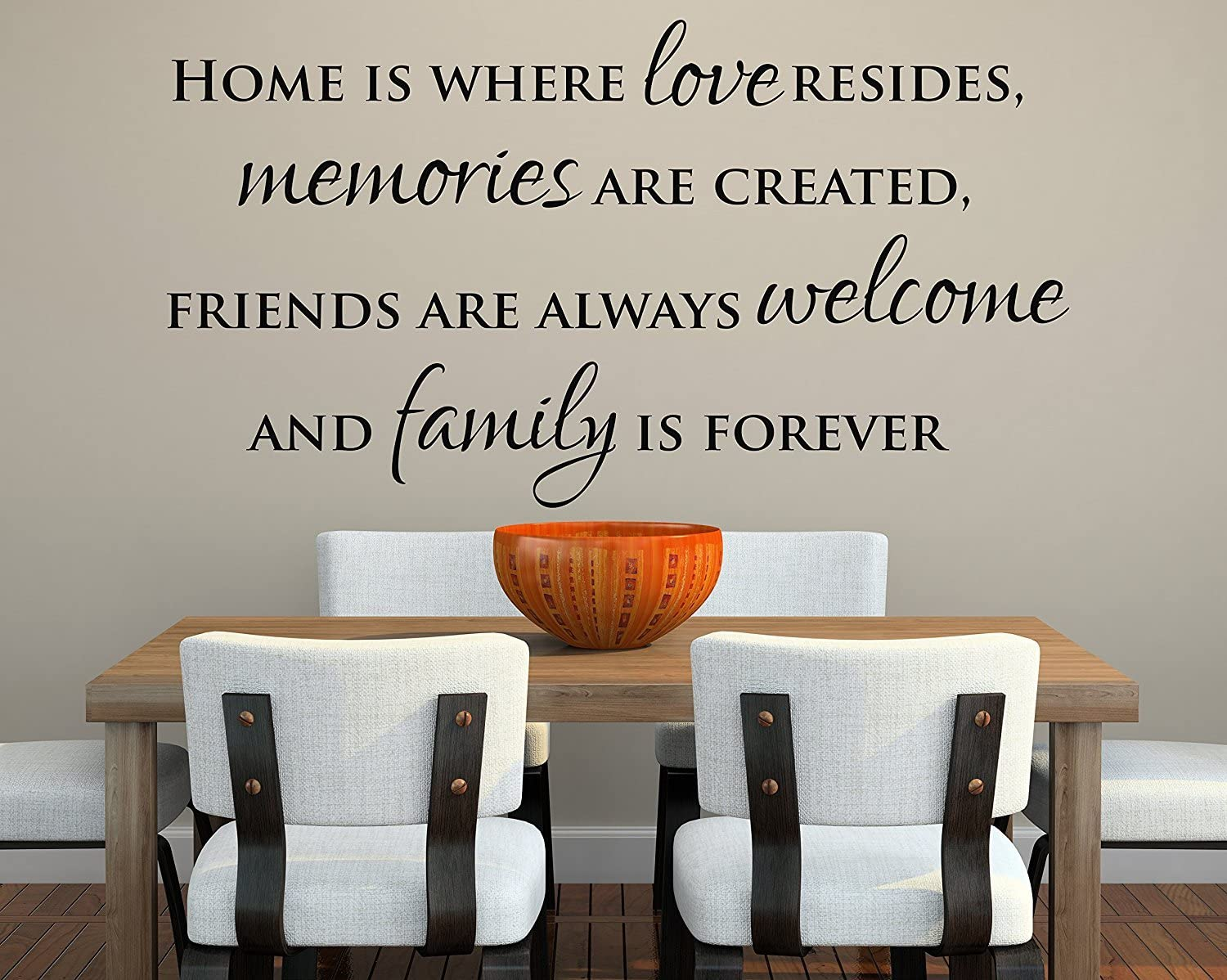 """STRENGTH OF MY LOVE Wall Art Vinyl Decal Family Quote Lettering Words 24/"""""""