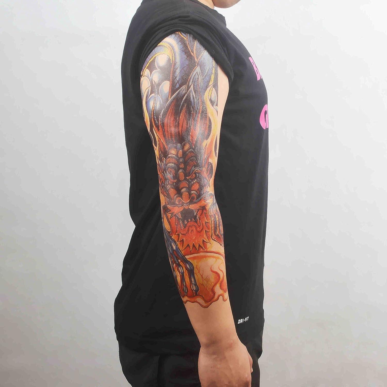 COKOHAPPY Temporales Tatuaje Cráneo Calavera 4 Diferente hoja ...