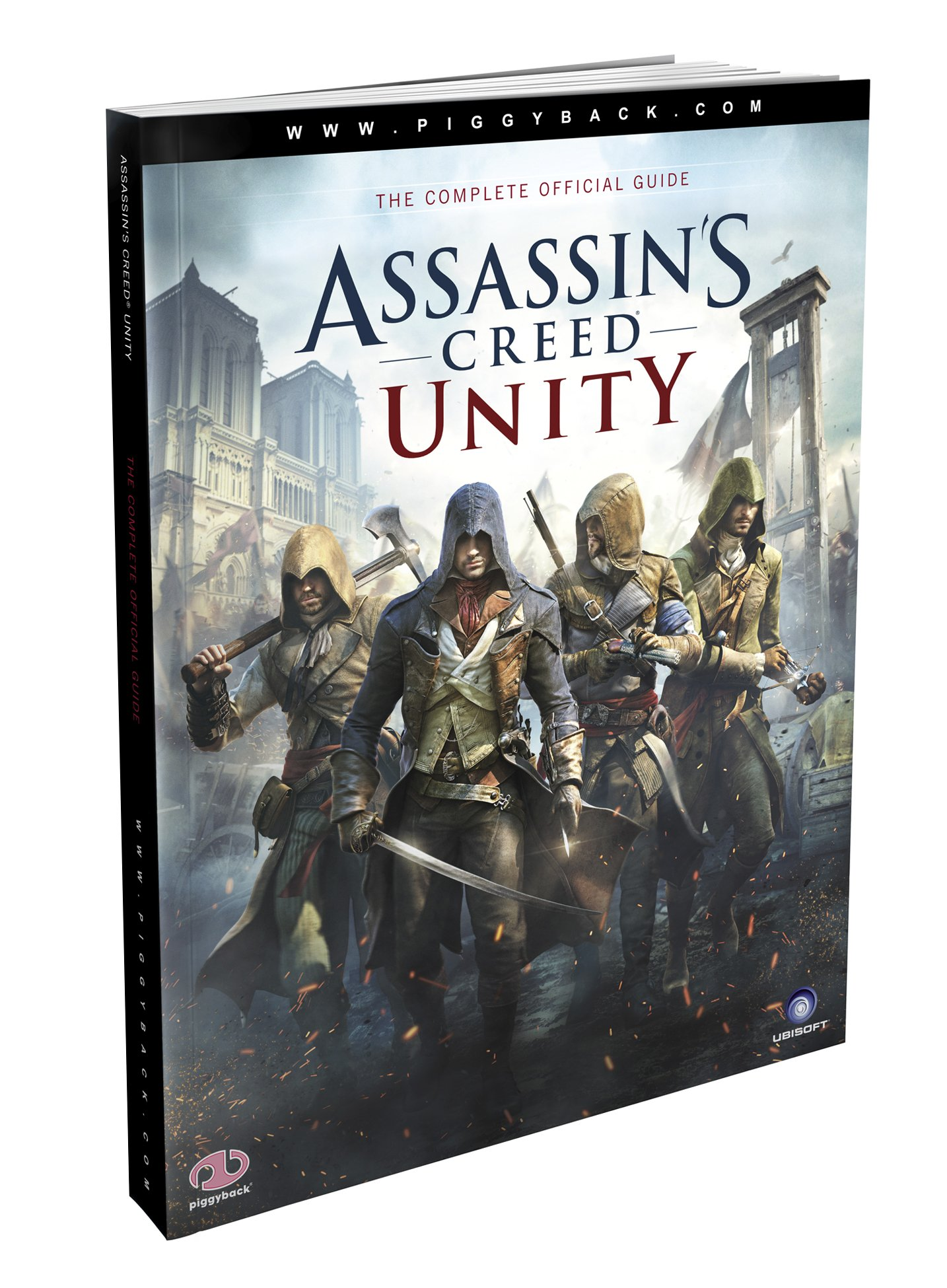 Assassin S Creed Unity Prima Official Game Guide Piggyback