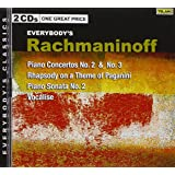 Rachmaninoff: Piano Concertos No. 2 & No. 3 / Rhapsody on a Theme of Paganini / Piano Sonata No. 2 / Vocalise