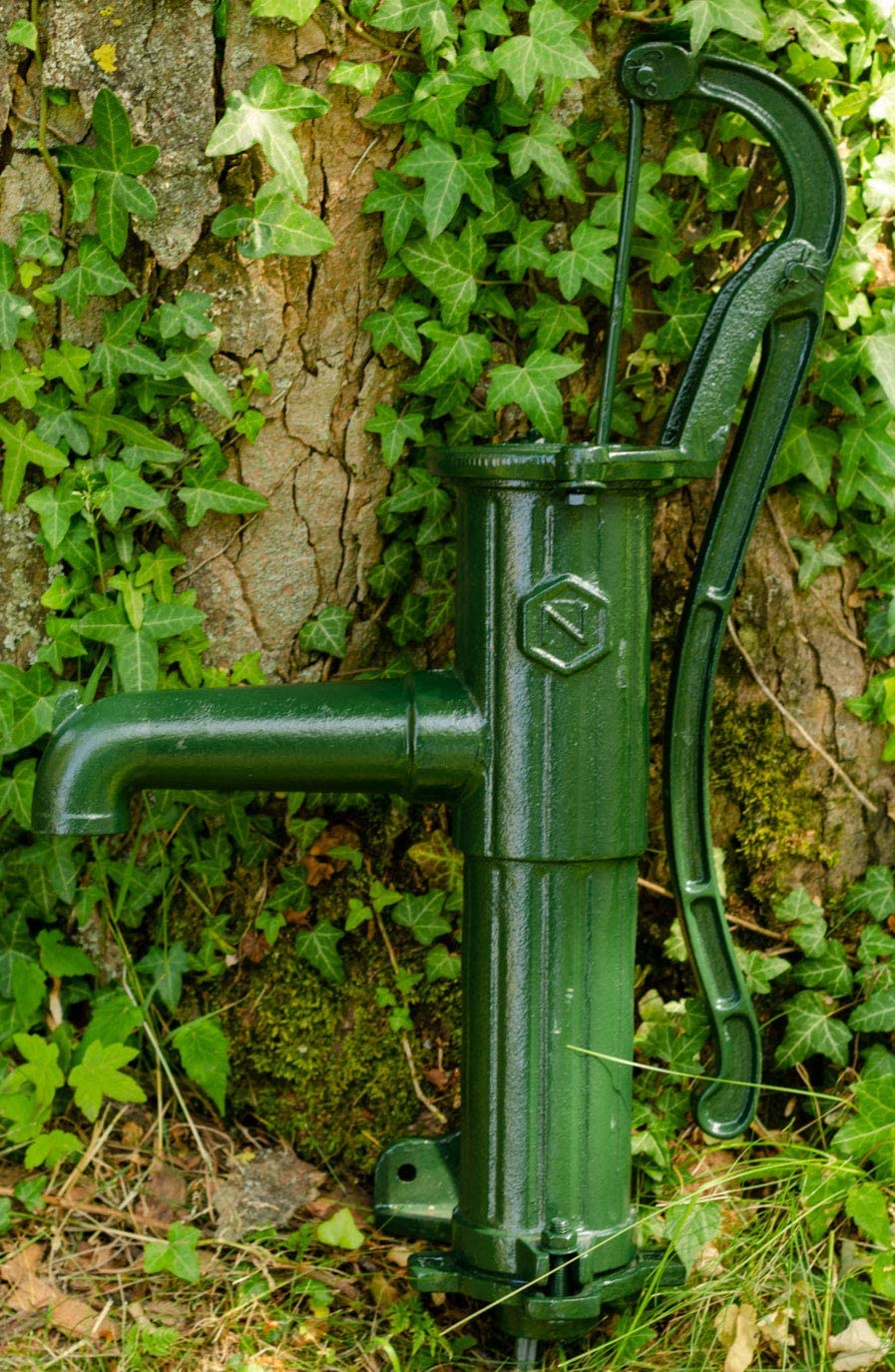 Pompa girevole da giardino girevole a mano dell/'acqua en stile antico