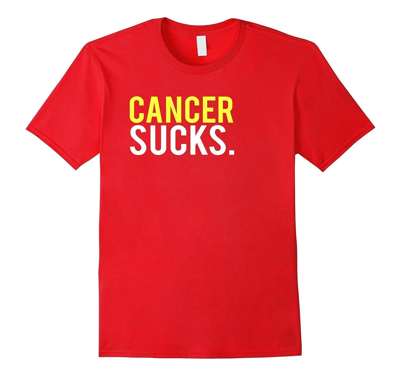 Cancer Sucks T-Shirt Cancer Survivor Treatment Gift-T-Shirt