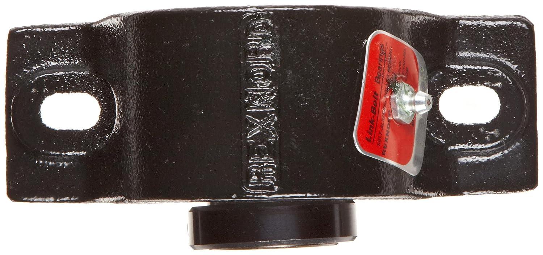1-1//2 Bore Diameter Cast Iron 2 Bolt Holes Non-Expansion Relubricatable Link-Belt PB22424H Spherical Roller Bearing Pillow Block Setscrew Locking Collar Inch