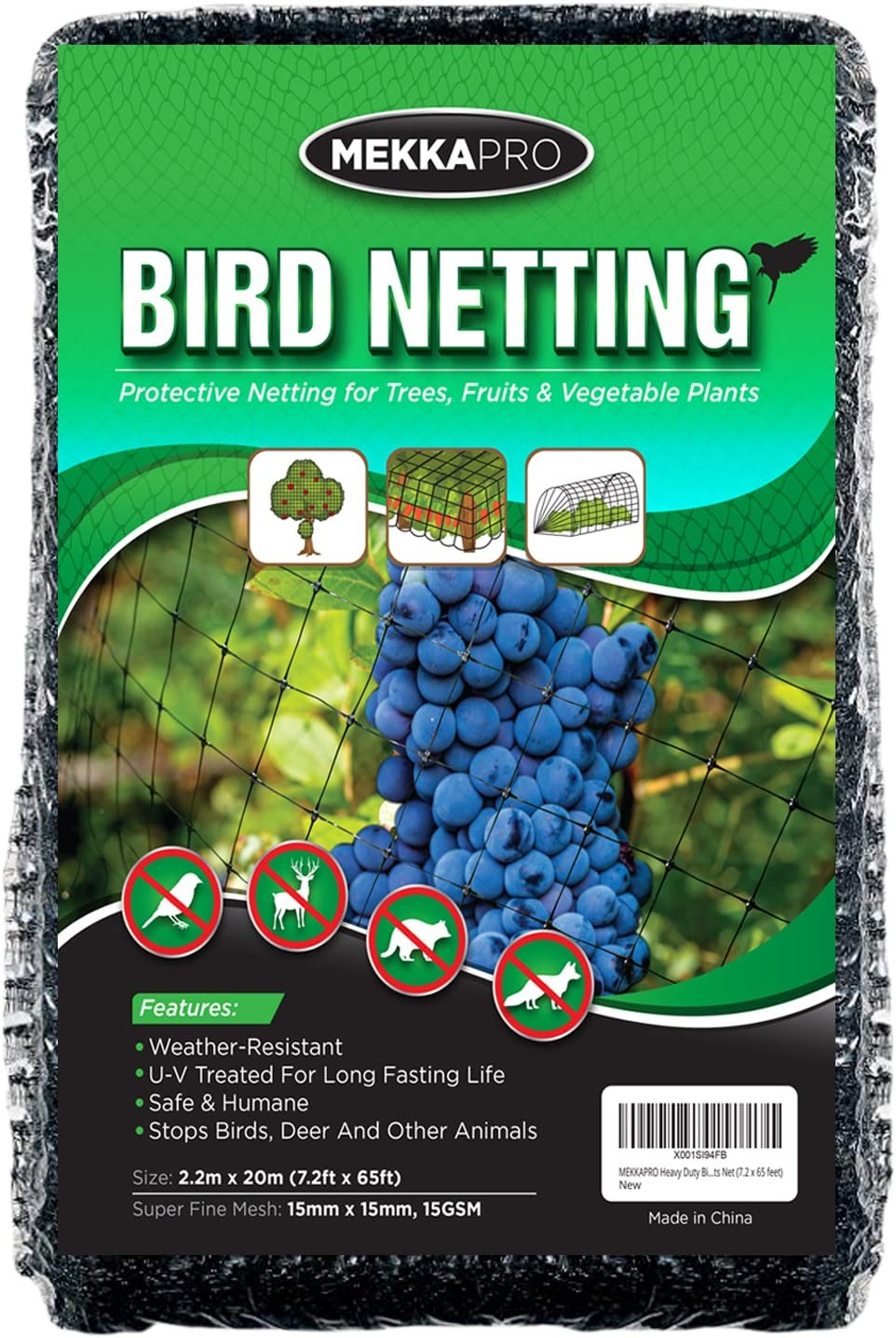 10*3m Anti Bird Crop Net Netting Garden Plants Ponds Fruit Tree.Mesh Protecti RD