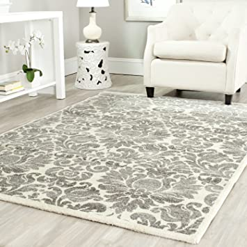 Safavieh Porcello Collection PRL3714A Grey And Ivory Area Rug (6u00277u0026quot; X 9