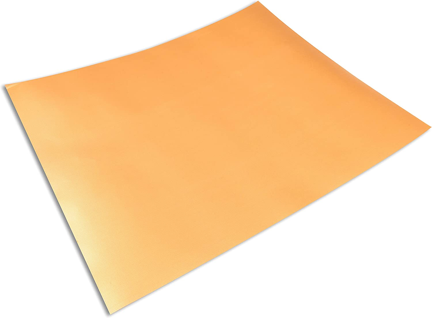 2-Pack Cooks Innovations Copper Non-Stick Oven Liner - Heavy Duty Sheet to Catch Spills in Convection, Electric, Gas, Toaster & Microwave Ovens