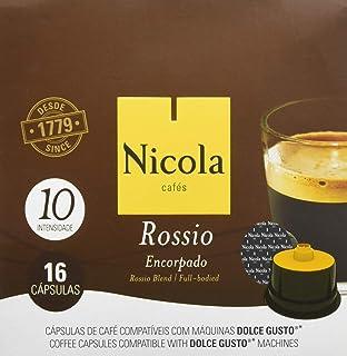 Nicola Rossio, Cápsulas de café - 6 de 16 cápsulas (Total 96 cápsulas)