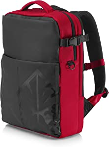 "HP OMEN 17.3"" Red Backpack"