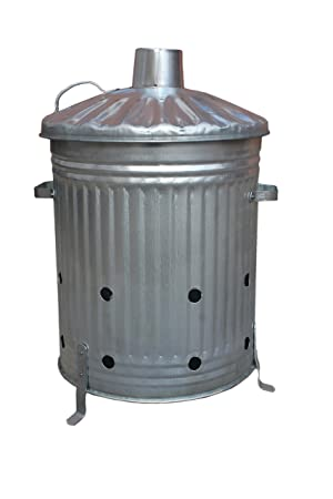 Nice Medium Garden L Litre Galvanised Incinerator Fire Burning Bin  With Lovely Medium Garden L Litre Galvanised Incinerator Fire Burning Bin Ideal For  Burning Rubbish  Documents  With Amusing Gardening Leave Rights Also Garden Bench No Back In Addition Lu Garden And Garden Inn Stockbridge As Well As Hilton Garden Inn Chicago Additionally Clearing Garden Waste From Amazoncouk With   Lovely Medium Garden L Litre Galvanised Incinerator Fire Burning Bin  With Amusing Medium Garden L Litre Galvanised Incinerator Fire Burning Bin Ideal For  Burning Rubbish  Documents  And Nice Gardening Leave Rights Also Garden Bench No Back In Addition Lu Garden From Amazoncouk