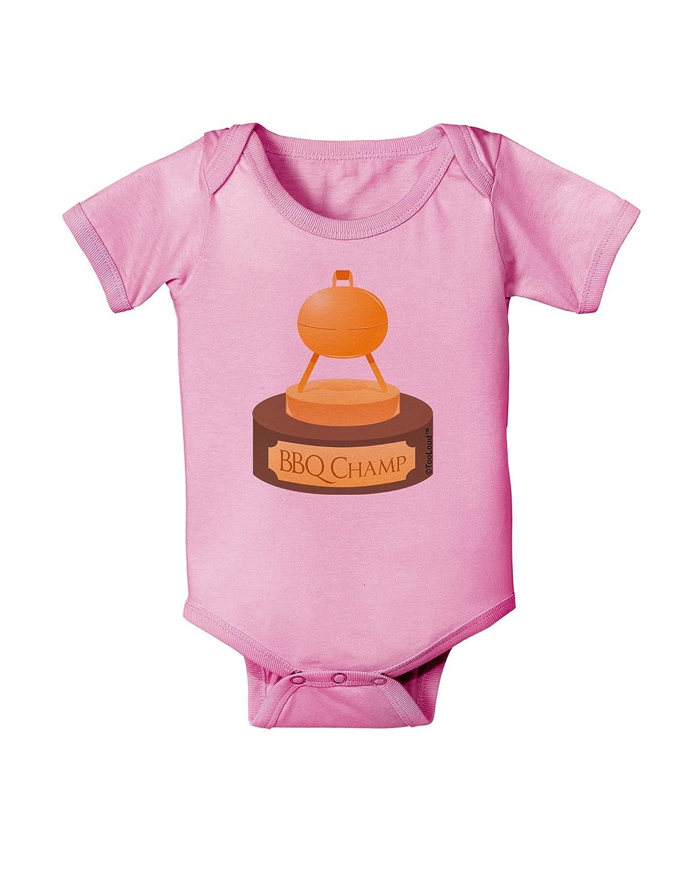 Golden Grill Trophy Baby Romper Bodysuit TooLoud BBQ Champ