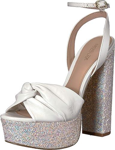 Claudette W/Glitter Platform