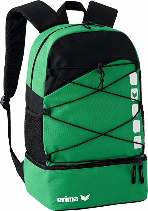 Erima Backpack One Size Yellow//Black