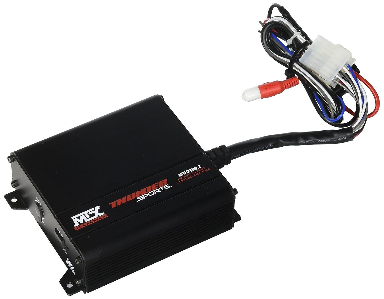 MTX Audio MUD100.2 Mud Series Amplifier Mitek Corporation CA