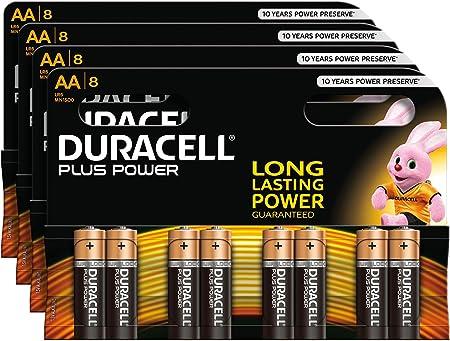 Duracell Plus Power Alkaline Batterien Aa 32 Stück Elektronik