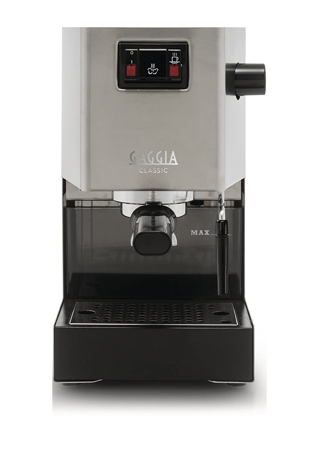 Electronic Classic Gaggia Coffee Machine gaggia classic ri8161 coffee machine with professional filter holder stainless steel body amazon co uk kitchen home