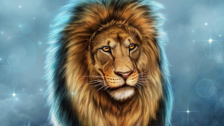 keletop 1000pcs Rompecabezas de Madera león fantasía Fondo de Pantalla Juegos niños Sopa Juguete Regalos niños Juegos Juguetes educativos_50x75cm