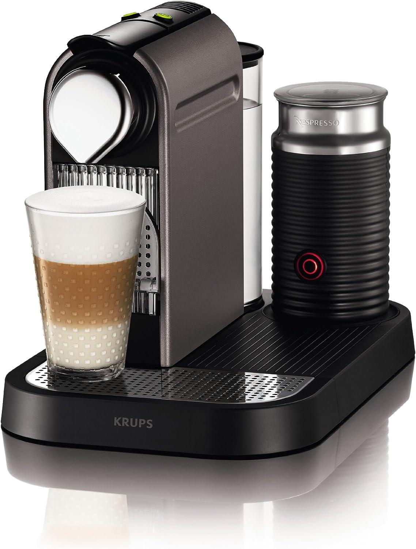 Nespresso Citiz & Milk Titan XN7101 Krups - Cafetera monodosis (19 ...