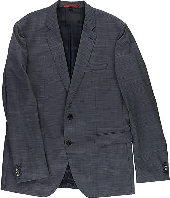 183057730 Amazon.com: Hugo Boss Mens Slim-Fit Two Button Blazer Jacket Blue 48 ...