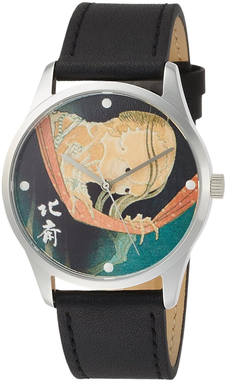 [葛飾北斎]Katsushika hokusai 小幡小平次 どくろ 腕時計 hk-dokuro B01ISWJWNC