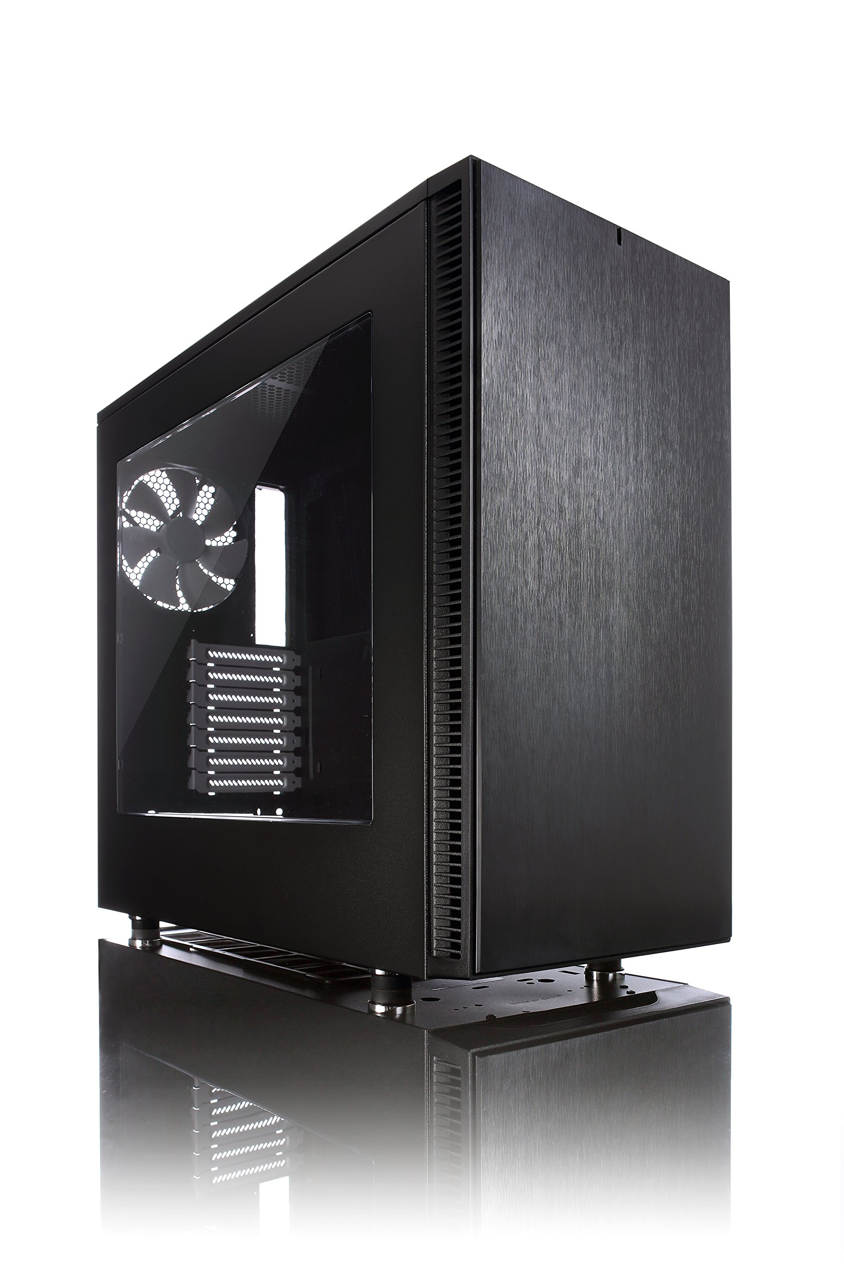 Fractal Design Define S Gaming Case  with Window FD-CA-DEF-S-BK-W by Fractal Design