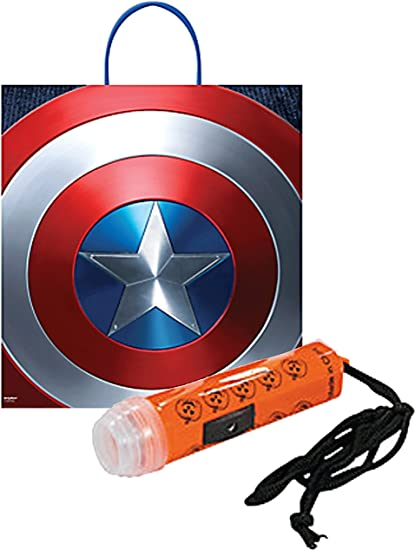 Rubies Costume Captain America Civil War Trick-or-Treat Canvas Bag