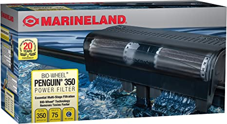 Amazon.com : Marineland PF0350B Penguin Power Filter, Upto 75 Gallons, 350 GPH : Aquarium Power Filters : Pet Supplies