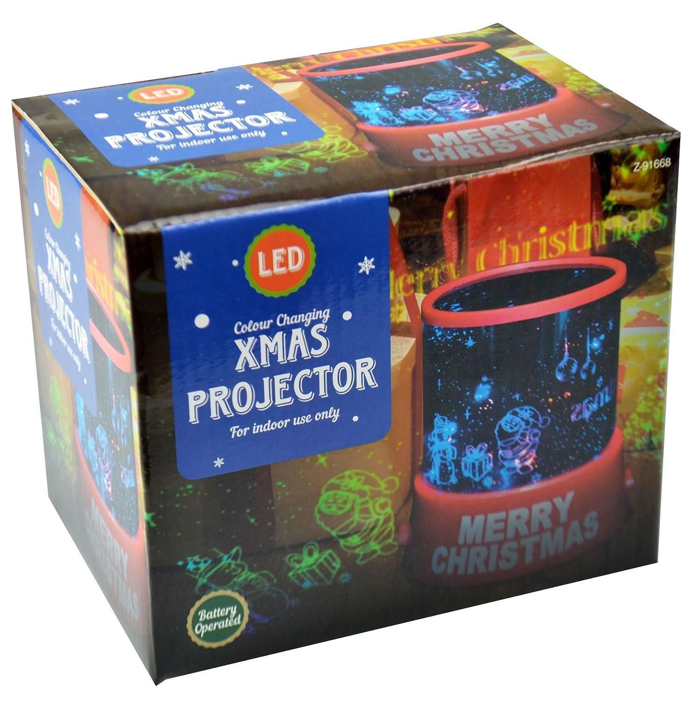Asab Proyector Luz nocturna funciona con pilas – Iluminación de ...