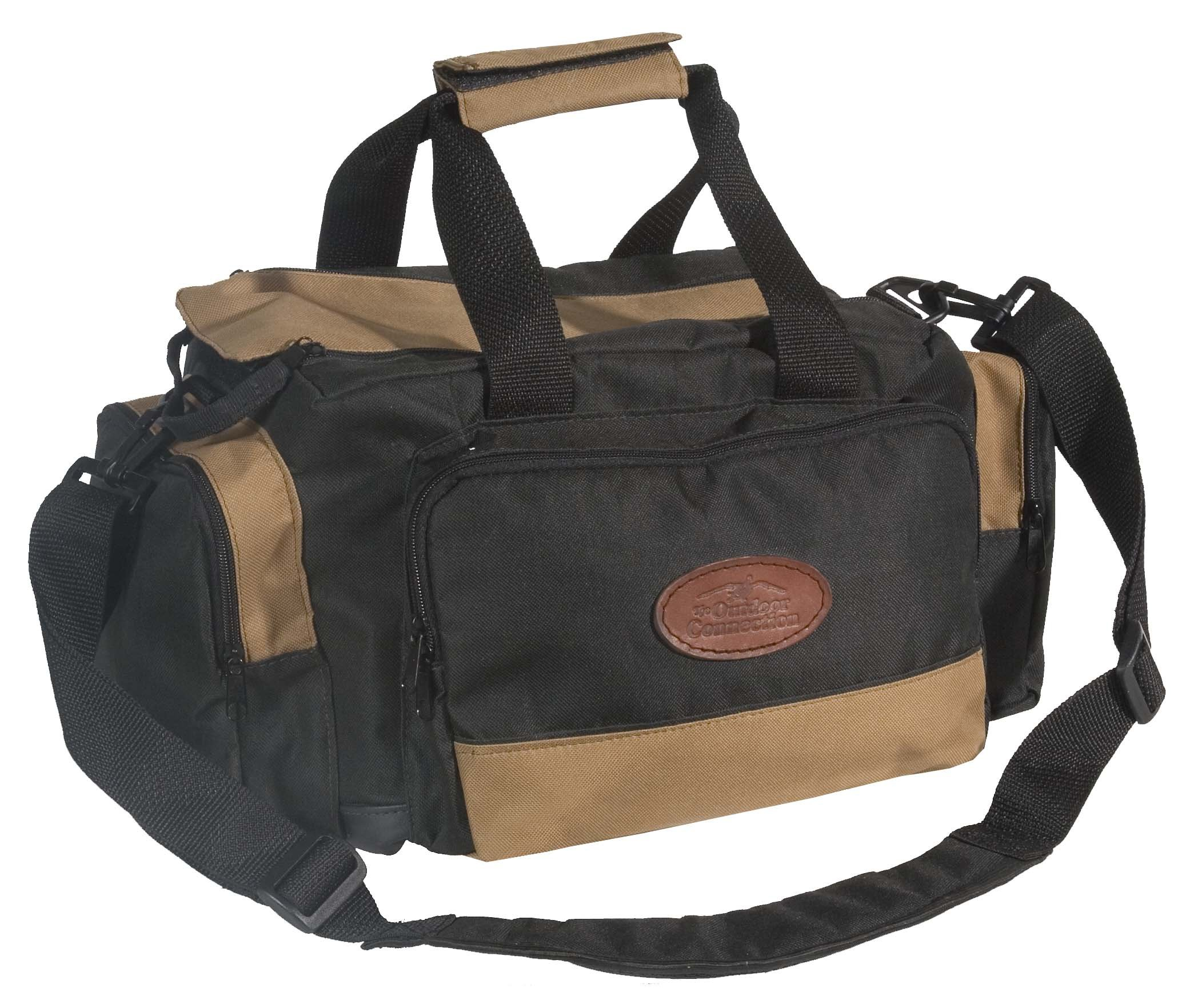 Outdoor Connection BGRNG1-28110 Deluxe Range Bag (Tan/Black)