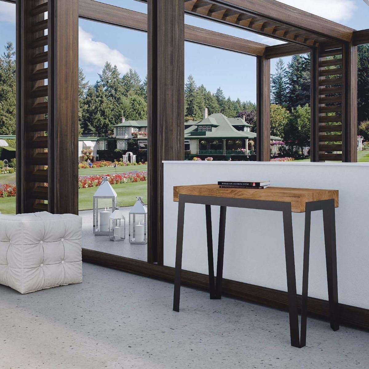 Itamoby Dalia Premium 90 cm Consola Extensible, Paneles de ...