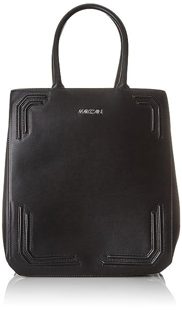 Marc Cain Jb T6.17 L79, Cartables femme, Schwarz (Black), 16x34x30 cm (B x H T)