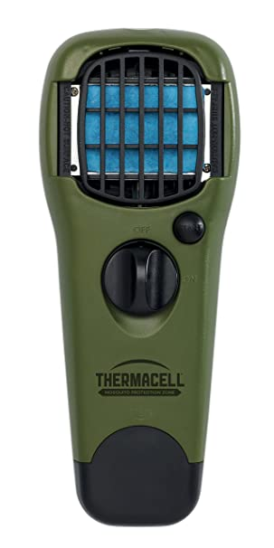Thermacell Mr Gj Portable Mosquito Repeller Olive