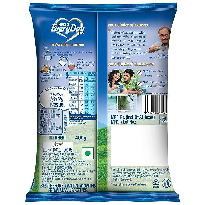 Everyday Nestle Dairy Whitener, 400g Pouch