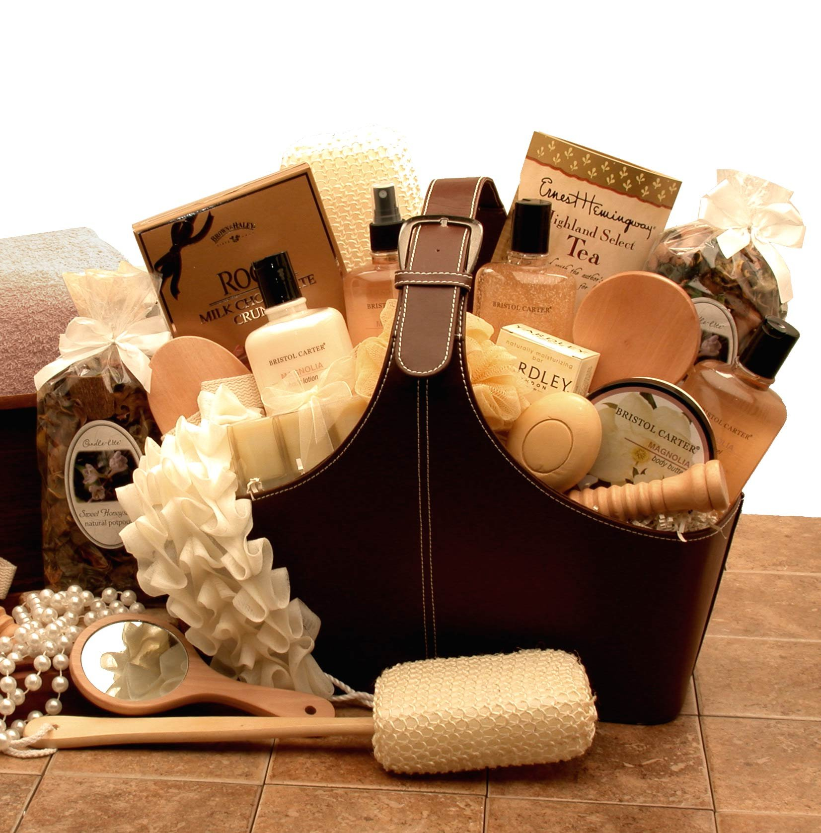 Spa Gift Basket of Relaxation Bath and Body