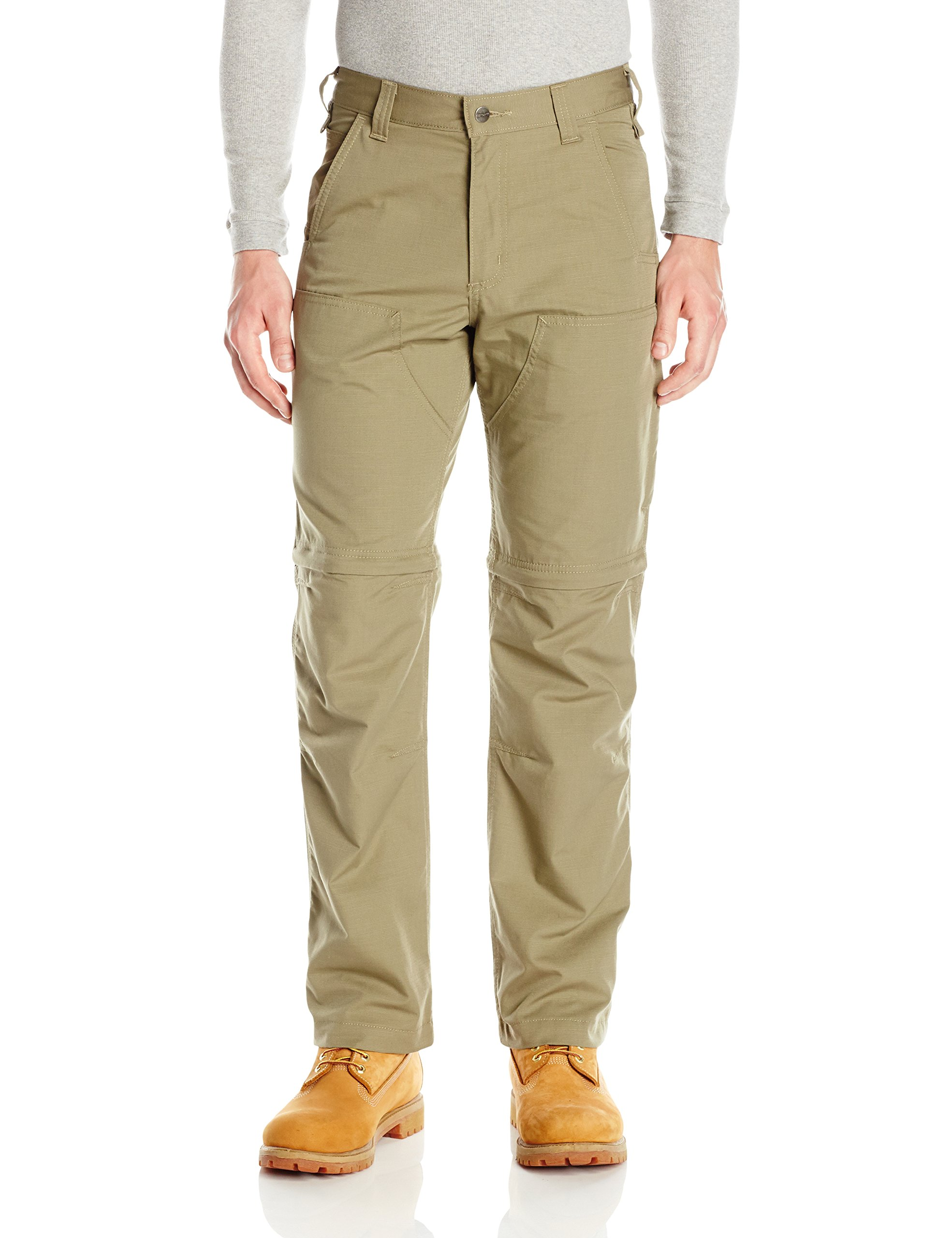 Carhartt Men's Force Extremes Convertible Pant, Burnt Olive, 34W X 30L