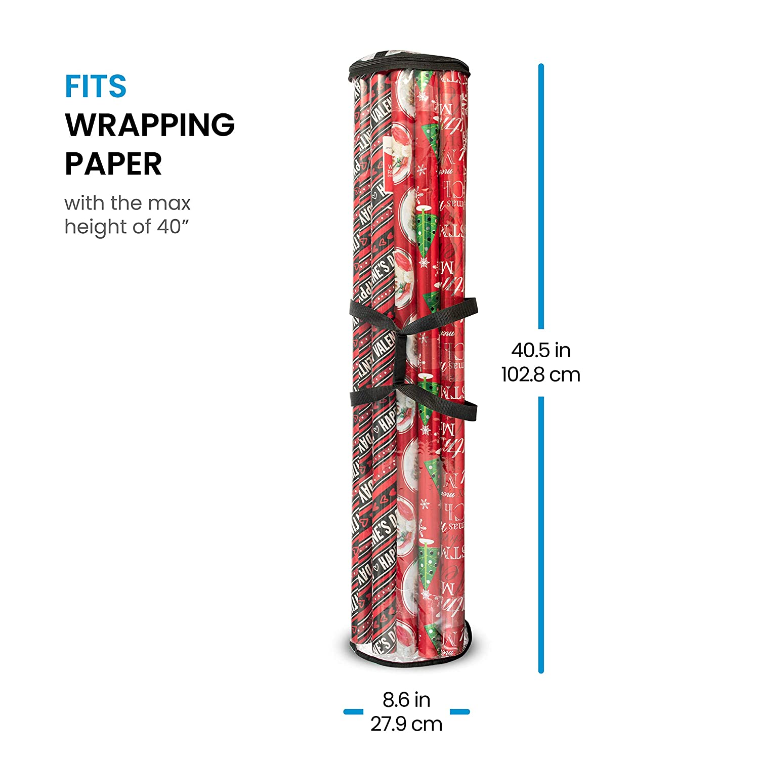 Amazon Christmas Wrapping Paper Storage Under Bed Made with