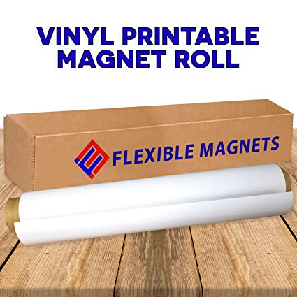 picture about Inkjet Printable Vinyl Roll identified as Multipurpose Vinyl Roll of Magnet Sheets - Tremendous Powerful Excellent for Crafts - Industrial Inkjet Printable (2 toes x 25 toes x 30 mil)