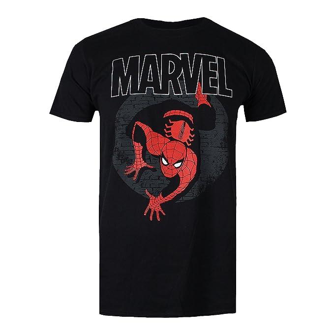 Marvel Spiderman Spotlight, Camiseta para Hombre