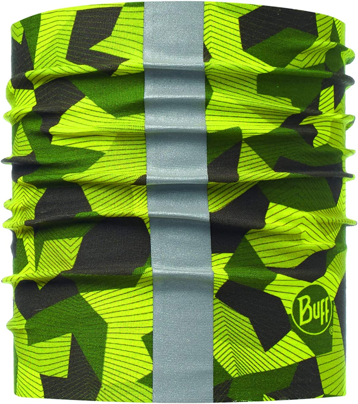 Buff Tubular Reflectante, Verde, M/L: Amazon.es: Productos para ...