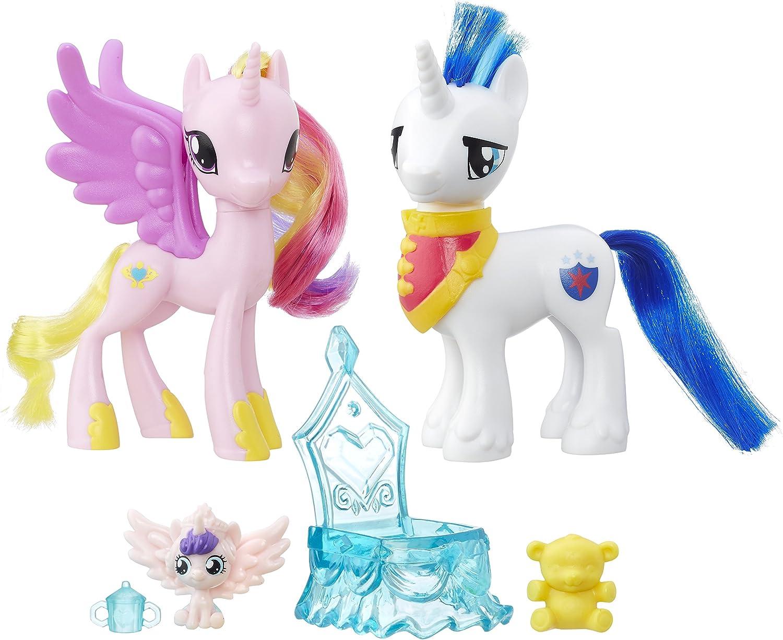 My Little Pony - Pack de amistad Cadance y shinning (Hasbro B9848ES0), 2 unidades: Amazon.es: Juguetes y juegos