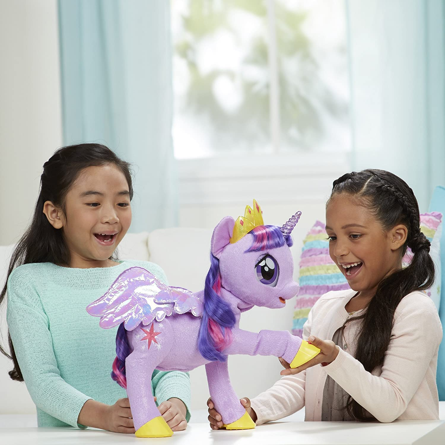 Interactive Play with My Little Pony: The Movie My Magical Princess Twilight Sparkle