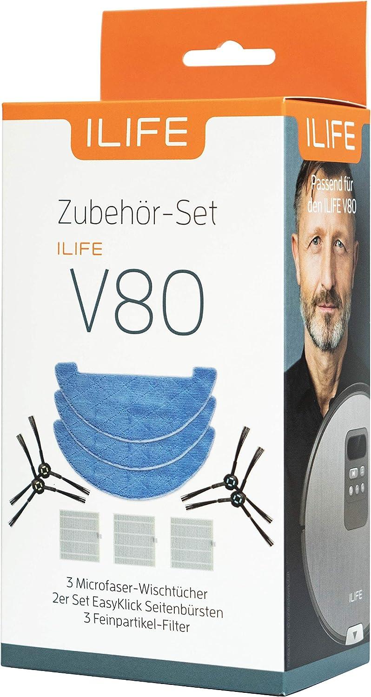 Filter Für ILIFE X750 V8S V80 V8 Staubsauger Zubehör Teile Reinigung Langlebig