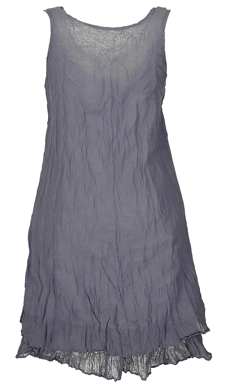 offizielle Fotos sehr günstig neueste trends Guru-Shop Boho Krinkelkleid, Lagenkleid, Minikleid, Sommerkleid ...