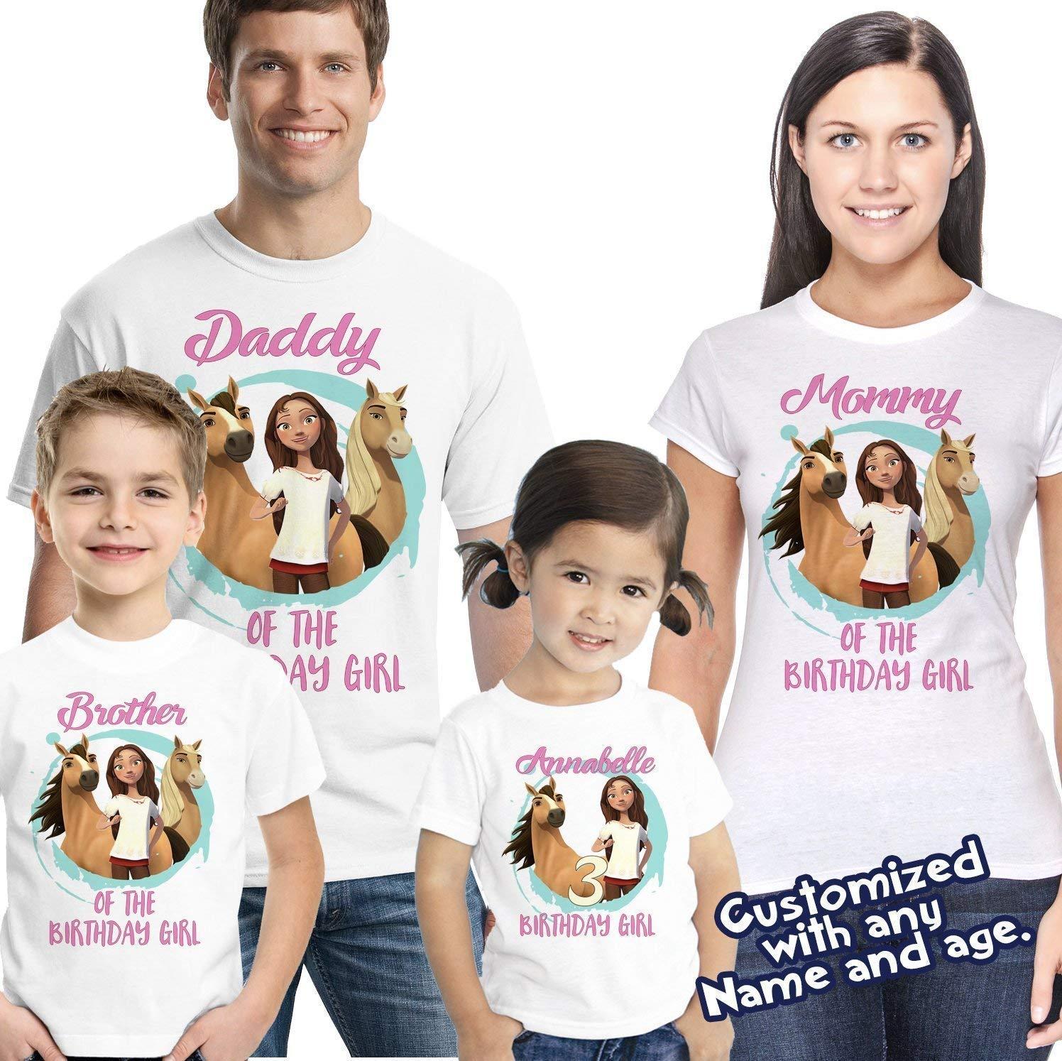 Octonauts Birthday Shirts Custom Party T-shirts Personalized Girl Boy Family