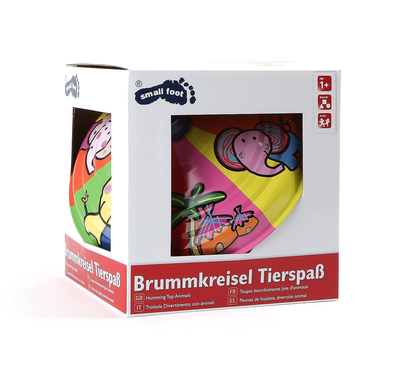 """Small Foot 10299 Brummkreisel /""""Tierspa/ß/"""" mehrfarbig"""