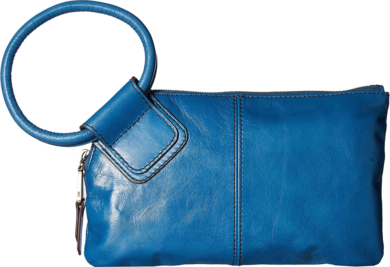 c42fe782c4 Amazon.com  Hobo Women s Leather Sable Wristlet Clutch Wallet (Bayou)  Shoes