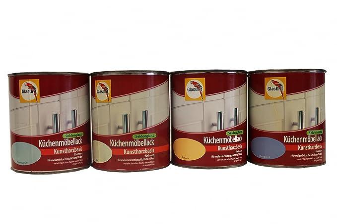 Glasurit Küchenmöbellack seidenglanz, 0,75 Liter in Blaubeere ...